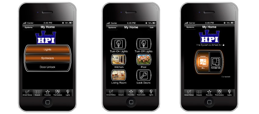 Home Controls HPI Security Alarms And Video Surveillance